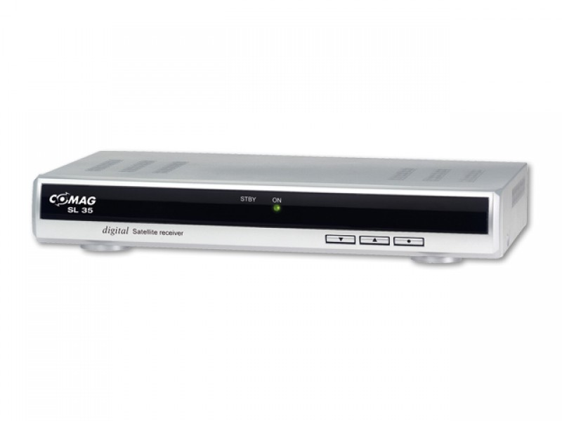 comag sl 35 sat receiver silber. Black Bedroom Furniture Sets. Home Design Ideas