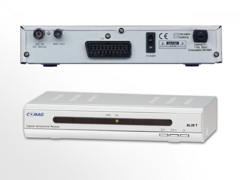 Digitaler Satelliten Receiver sl 25 Comag sl 25 t Dvb t Receiver