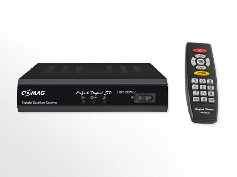 comag einfach digital sd sat receiver. Black Bedroom Furniture Sets. Home Design Ideas