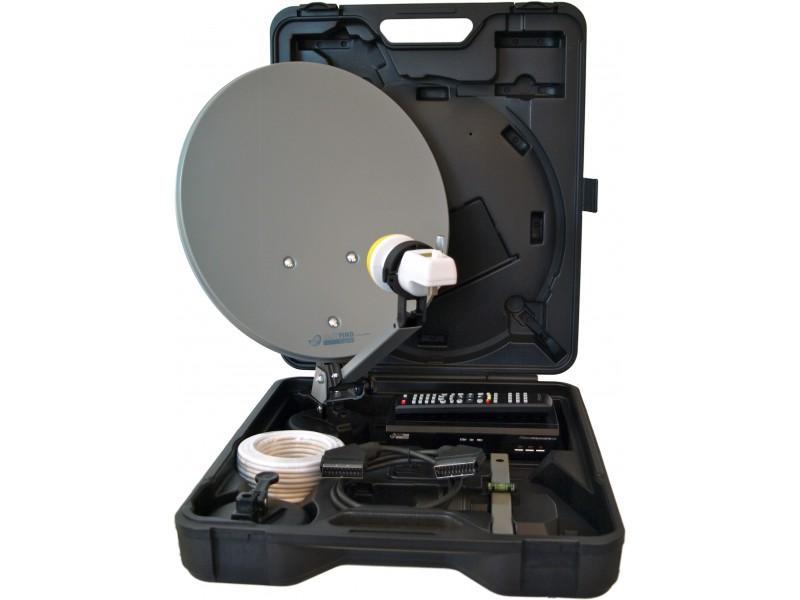 Micro electronic Campingkoffer digitale Camping Satellitenanlage Micro CS35 SD Micro M30/12V Easyfind