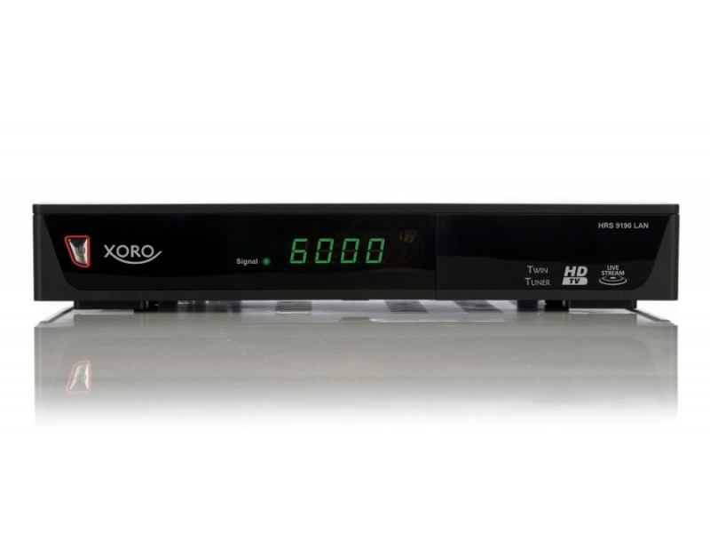 xoro hrs 9190 lan digitaler hd satelliten receiver hdtv. Black Bedroom Furniture Sets. Home Design Ideas