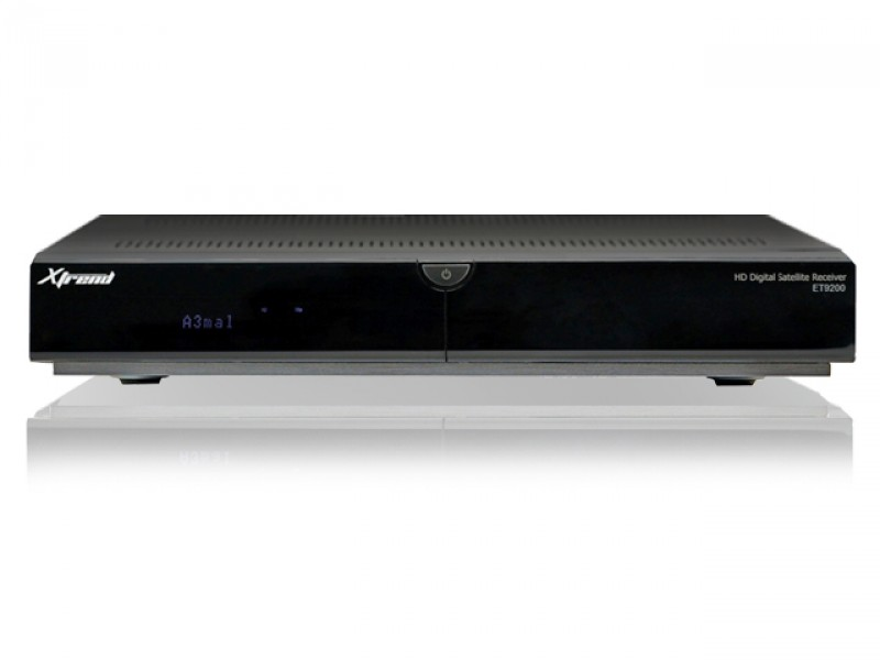 Xtrend ET 9200 HD Linux Full HD Hbb TV Twin Sat Receiver 500 GB HDD USB PVR Ready