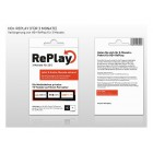 HD+ Replay (f�r 3 Monate + 6 Monate gratis bis...
