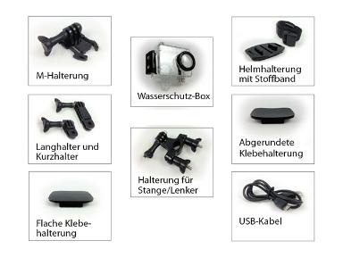 hd pro 1 action cam full hd 60 bilder sek 5 mpixel 1. Black Bedroom Furniture Sets. Home Design Ideas