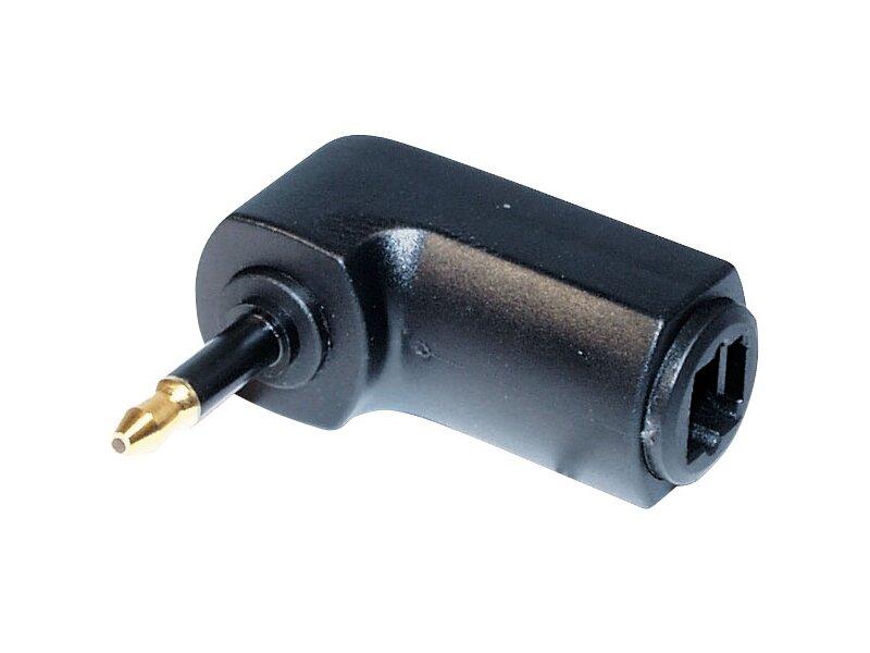 winkel adapter 3 5mm stecker klinke toslink kupplung. Black Bedroom Furniture Sets. Home Design Ideas