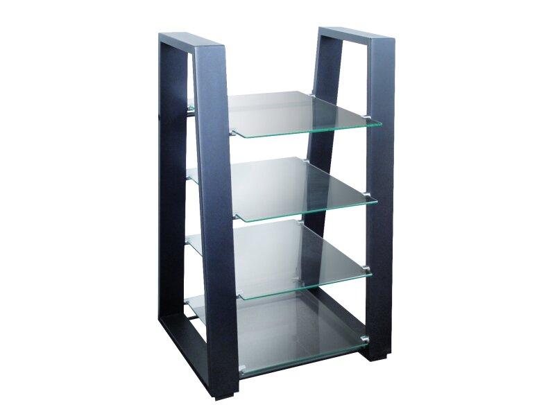mywall hifi ger te regal belastbar bis je 10 kg pro glasplatte. Black Bedroom Furniture Sets. Home Design Ideas