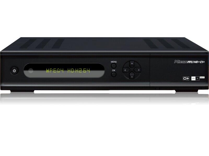 micro m1 hd ci hdtv full hd twin tuner sat receiver inkl hd plus k. Black Bedroom Furniture Sets. Home Design Ideas