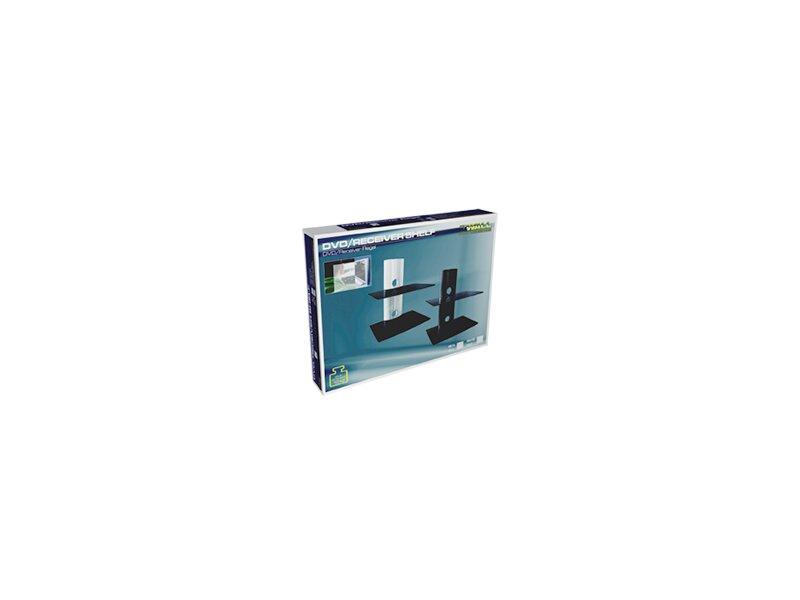 mywall dvd receiver regal mit 2 ablagen max belastung je 10 kg sch. Black Bedroom Furniture Sets. Home Design Ideas