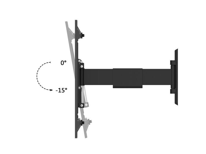 puremounts tv halterung pm easyflex 65 easyflex 65 37. Black Bedroom Furniture Sets. Home Design Ideas