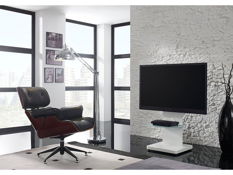 puremounts gi pm 101w tv standfu schwenkbar 15 h. Black Bedroom Furniture Sets. Home Design Ideas