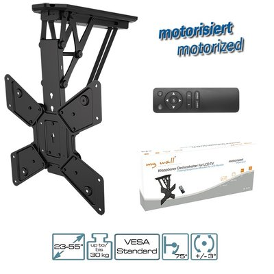 MyWall LCD   LED   Plasma   TV   Klappbarer Motorisierter Deckenhalter  23 55 Zoll ...