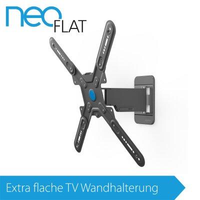 EXELIUM NeoFlat®   Neo16 TV Wandhalterung XFLAT NEO16 Neig U0026 Schwenkbar Für  32 Zoll ...