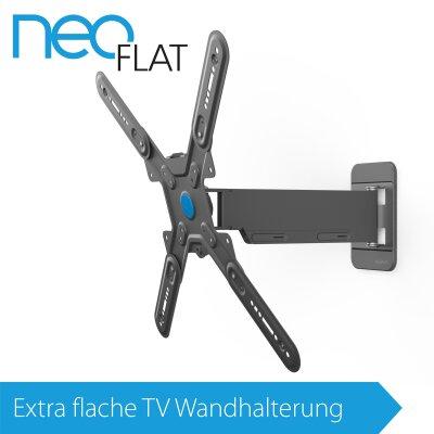 EXELIUM NeoFlat®   Neo26 TV Wandhalterung XFLAT NEO26 Neig U0026 Schwenkbar Für  32 Zoll ...