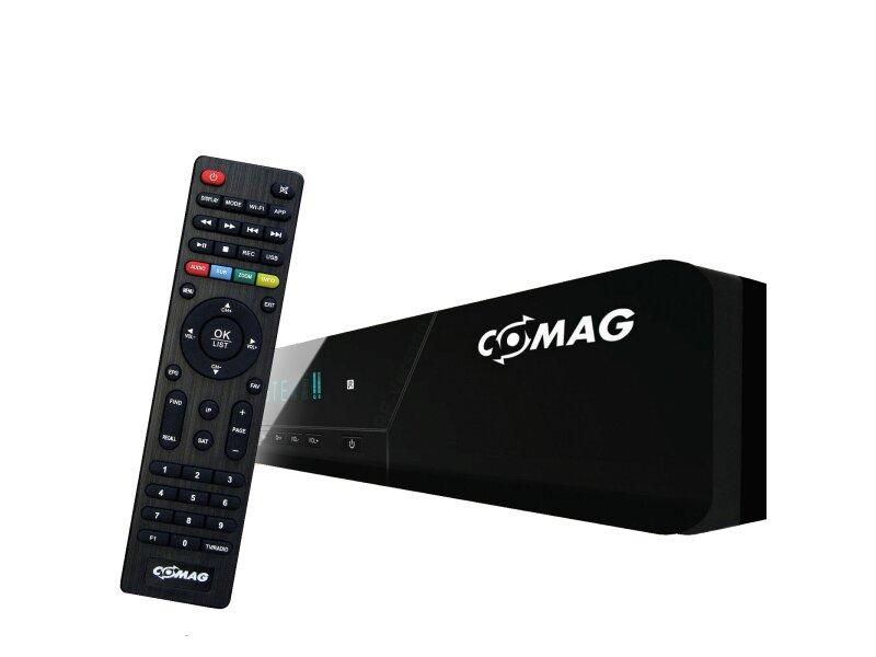 COMAG TWIN HD Digitaler Twin-Tuner Satelliten-Receiver (HDTV, DVB-S2 TWIN-Tuner, HDMI, PVR, USB 2.0) schwarz 1000 GB