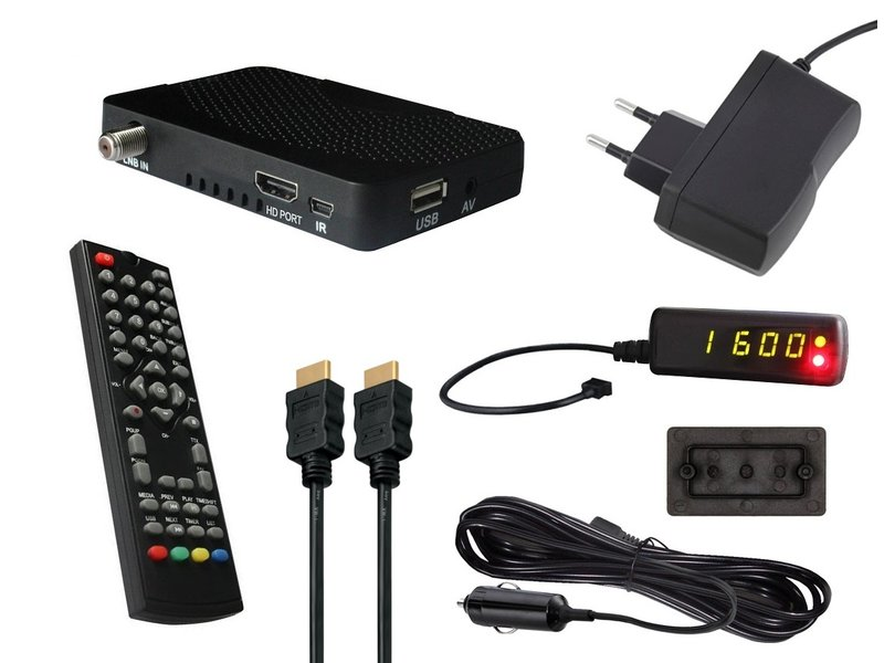comag hd25 hdmi mini hdtv sat receiver 12 230v camping set inkl 12v. Black Bedroom Furniture Sets. Home Design Ideas