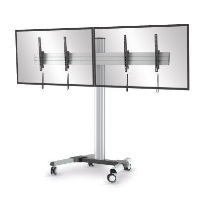 conecto tv standfu rollwagen sa cc50166 f r 2 st c. Black Bedroom Furniture Sets. Home Design Ideas