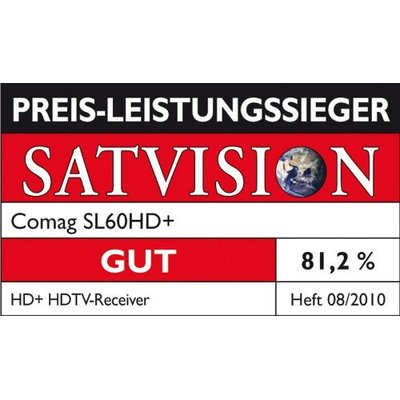 COMAG SL 60 HD+ Basic Full HD Sat Receiver inkl. HD plus Karte (B-Ware, 12 Monate gratis)