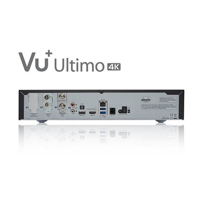 VU+ Ultimo 4K 1x DVB-S2 FBC Twin / 1x DVB-C FBC Tuner PVR ready Linux Receiver UHD 2160p