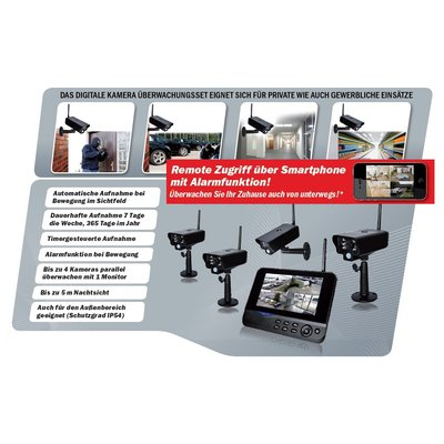 comag seccam11 ip funk berwachungskamera video berwachung. Black Bedroom Furniture Sets. Home Design Ideas