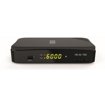 Opticum AX HD 150 HDTV-Satellitenreceiver (Full HD 1080p, HDMI, USB, Scart, 12 Volt, ideal auch für Camping) inkl. HDMI Kabel