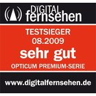Opticum LQP 04 H Quad LNB für Satelliten-Receiver FULL HD / 3D ready - vergoldete Kontakte, inkl. 8x Premium F-Stecker