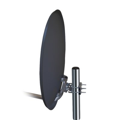 Opticum X60 Stahl Satellitenantenne (60 cm) anthrazit