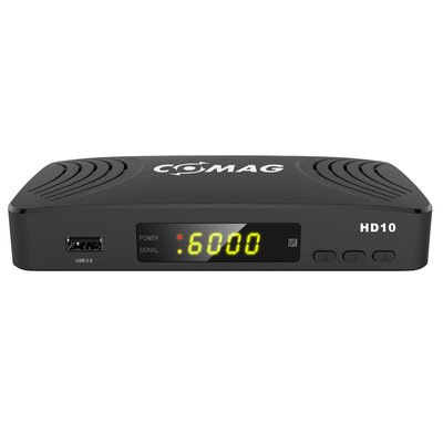 COMAG HD10 Digitaler HD Sat Receiver (FULL HD, HDTV, DVB-S2, HDMI, SCART, PVR-Ready, USB 2.0) schwarz