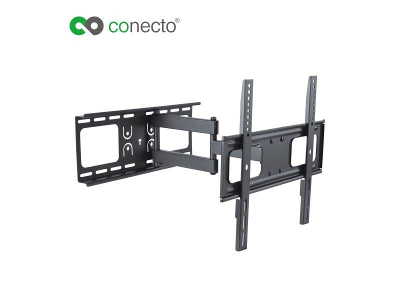 conecto cc50272 wandhalterung f r tv ger te mit 81 140 cm. Black Bedroom Furniture Sets. Home Design Ideas