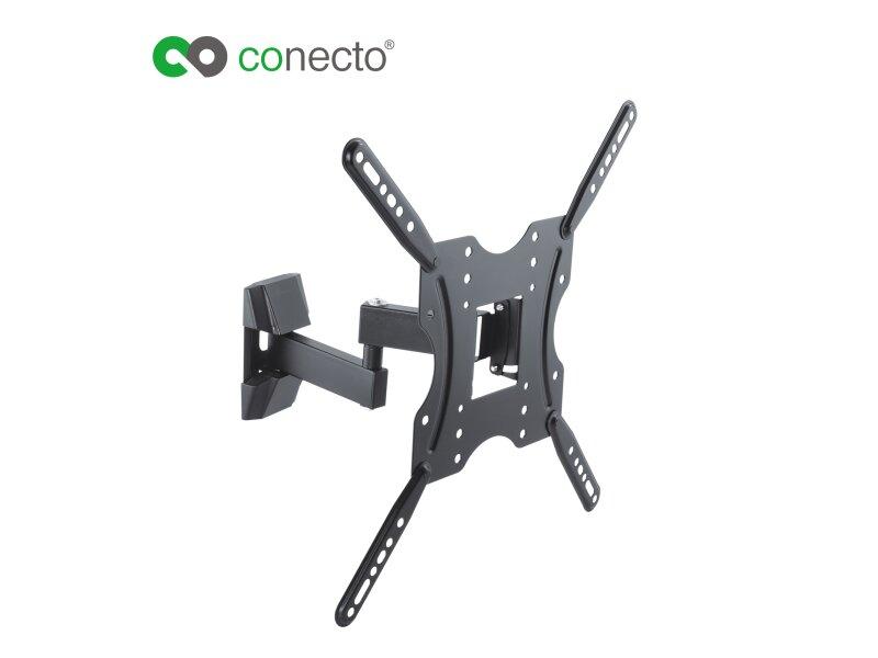 conecto cc50278 wandhalterung f r tv ger te mit 81 140 cm. Black Bedroom Furniture Sets. Home Design Ideas