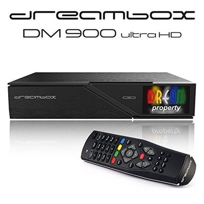 Dreambox DM900 UHD 4K E2 Linux Receiver mit 1x DVB-C/T2...