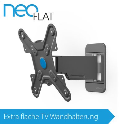 EXELIUM NeoFlat®   Neo11 TV Wandhalterung XFLAT NEO11 Neig U0026 Schwenkbar Für  19 Zoll ...
