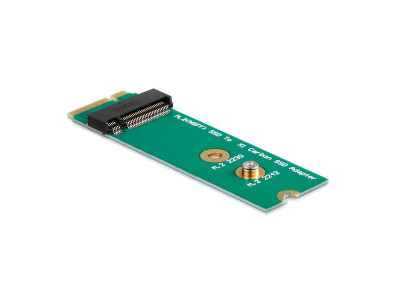 Adapter M 2-SSD in Lenovo ThinkPad X1 Carbon