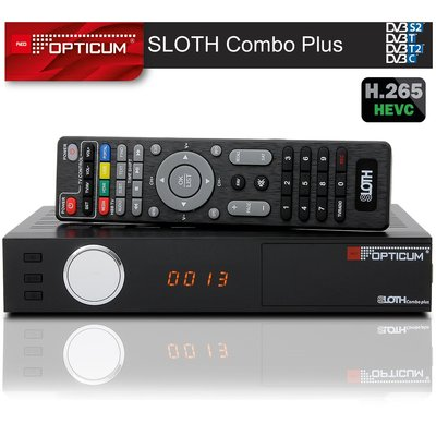 Opticum HD Sloth Combo Plus DVB-S/S2/T/T2-C Digital IP...