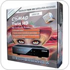 COMAG TWIN HD plus Digitaler Twin-Tuner Satelliten-Receiver (HDTV, DVB-S2 TWIN-Tuner, HDMI, PVR, USB 2.0) schwarz 1000 GB, inkl. HDMI Kabel