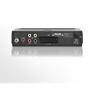 Opticum XC80 DVB-C digitaler Kabelreceiver schwarz