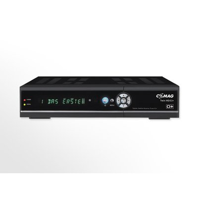 COMAG TWIN HD/CI+ HD-Twin-Tuner Sat Receiver inkl. gratis HIGHSPEED HDMI-Kabel