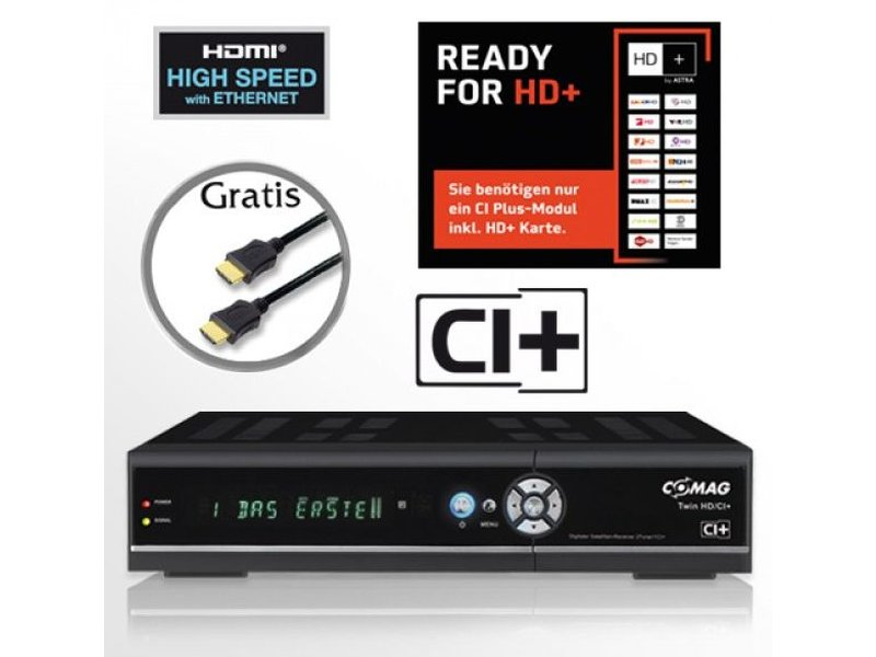 comag twin hd ci festplatten sat receiver twin tuner hdtv 500 gb ink. Black Bedroom Furniture Sets. Home Design Ideas