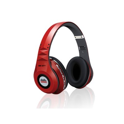 SOUNDS - Big City - Premium Bluetooth Stereo Kopfhörer Headset (All-In-One) rot