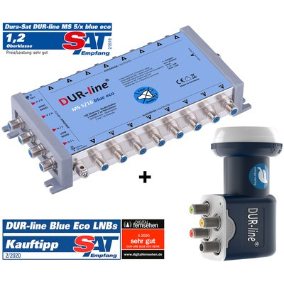 DUR-line MS-S 5/16 Blue ECO - Multischalter Set