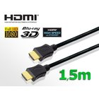 HDMI Kabel HIGH SPEED mit Ethernet (vergoldete Stecker)...
