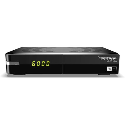 Vantage VT-55 HD+ Digitaler Full HDTV Satelliten-Receiver...